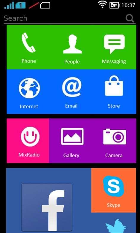 Nokia X Launcher Screenshots 1