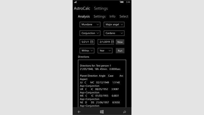 Buy AstroCalcMobilePro - Microsoft Store