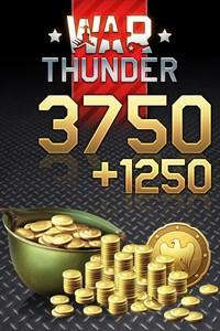 War Thunder - 3750 (+1250 Bonus) Golden Eagles
