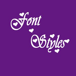 Get Font Styles
