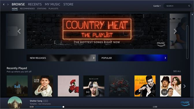 The::unwired available: amazon mp3 app for android hits europe.