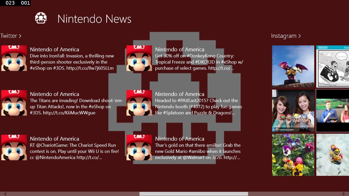 News for Nintendo