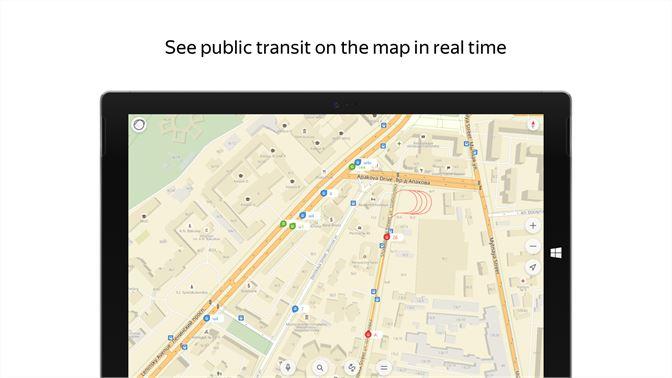 Get Yandex Maps Microsoft Store