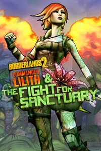 Carátula para el juego Borderlands 2: Commander Lilith & the Fight for Sanctuary de Xbox One