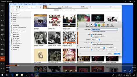 iTunes on PC Guide Screenshots 2