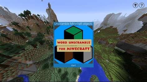 Word Unscramble for Minecraft Screenshots 1