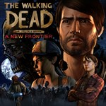 The Walking Dead: A New Frontier - The Complete Season (Episodes 1-5) Logo
