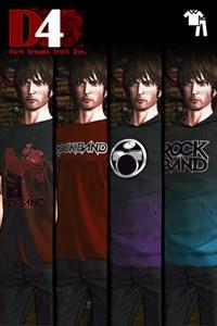 D4: Dark Dreams Don't Die - ROCK BAND Clothing Set