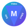 Video Editor (Trim Video; Overlay Video, Photo, Sticker, Text,...)
