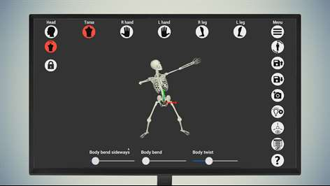 Bone Poser - 3D skeleton pose tool Screenshots 2