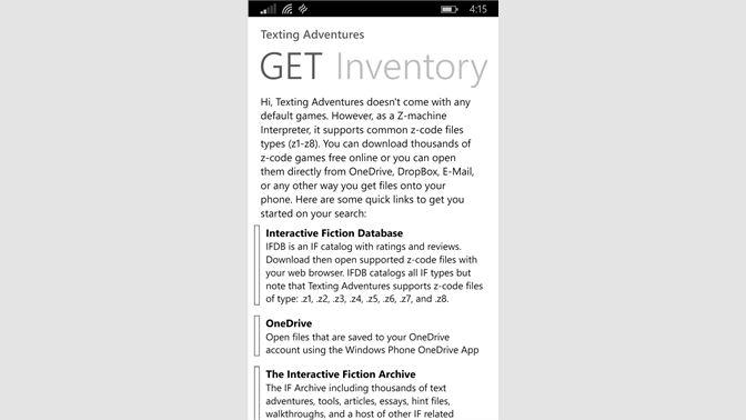 Buy Texting Adventures - Microsoft Store