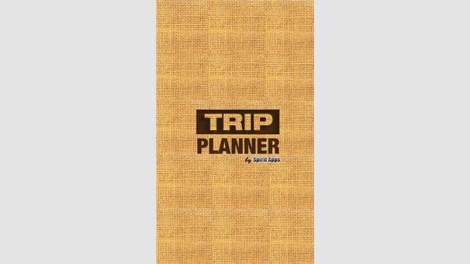 get trip planner microsoft store