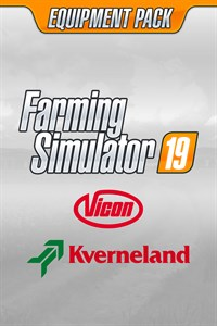 Carátula del juego Farming Simulator 19 - Kverneland & Vicon Equipment Pack