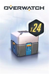 Carátula del juego Overwatch - 24 Loot Boxes