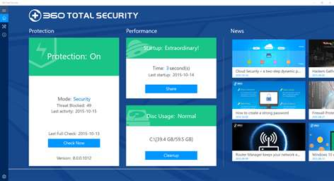 360 Total Security App Latest version Free Download 2019