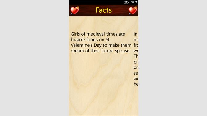 Get Valentine Day Facts - Microsoft Store