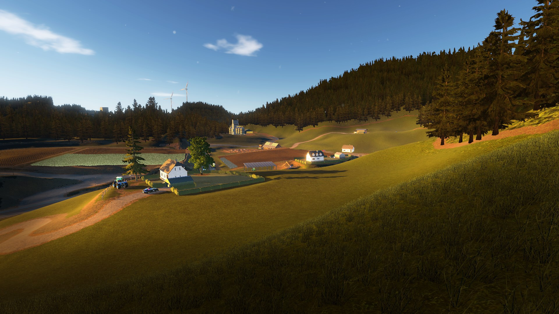 Real Farm - Grünes Tal Map