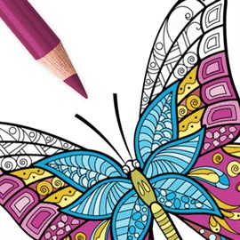 Get Butterfly Coloring Pages For Adults Book