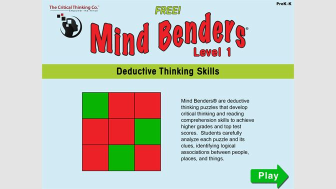 Get Mind Benders® Level 1 (Free) - Microsoft Store