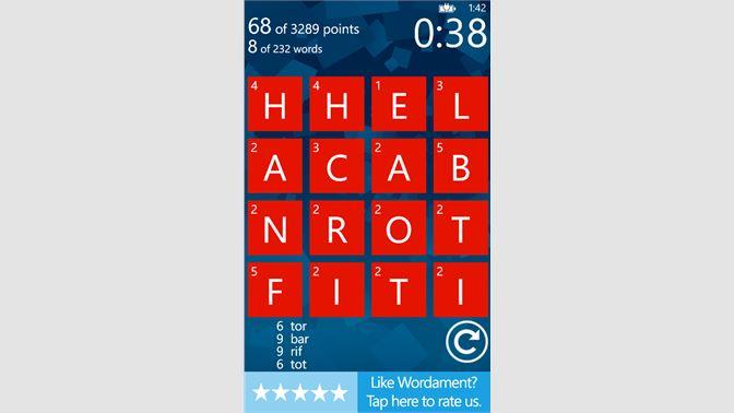 Get Wordament - Microsoft Store en-GB