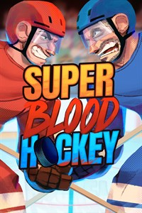 Carátula del juego Super Blood Hockey