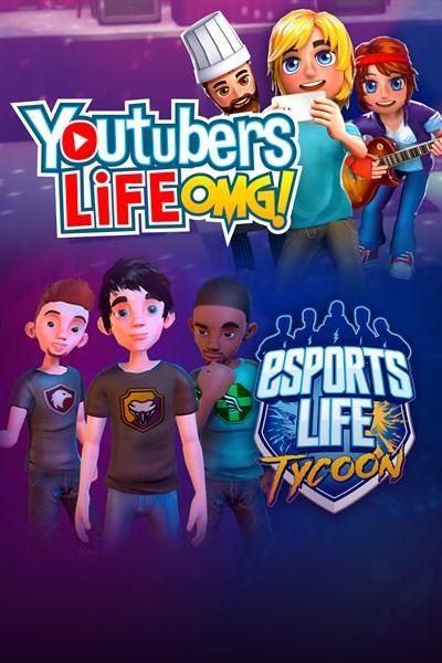 Life Bundle: Youtubers Life + Esports Life Tycoon