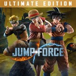JUMP FORCE - Ultimate Edition Logo