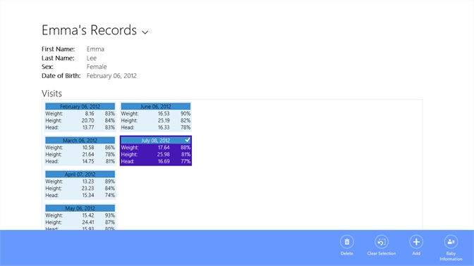 Get Baby Growth Charts Microsoft Store