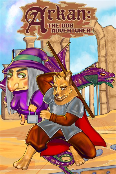Arkan: The dog adventurer (Xbox Series X|S)