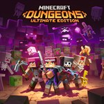 Minecraft Dungeons Ultimate Edition Logo