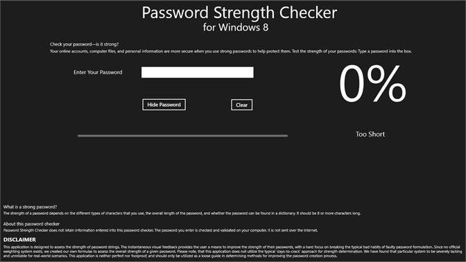 Get Password Strength Checker - Microsoft Store en-AU