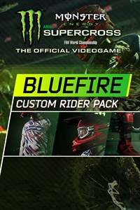 Monster Energy Supercross - Bluefire Custom Rider Pack