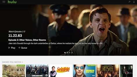 Hulu Screenshots 1