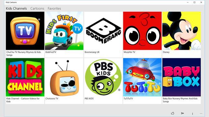 Get Kids Cartoons - Microsoft Store en-SA