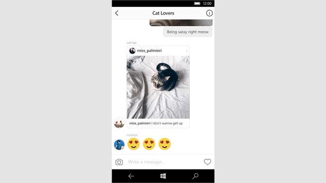 download instagram desktop windows 10