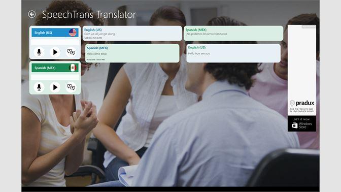 Get SpeechTrans Ultimate - Microsoft Store