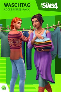 Die Sims™ 4 Waschtag-Accessoires