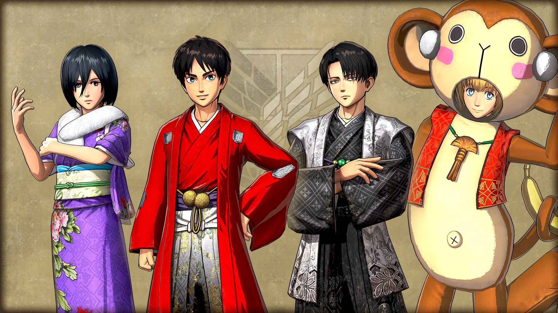 """Costume Set """"Japanese New Year"""""""