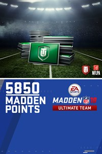 5850 Madden NFL 18 Ultimate Team Points