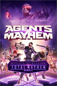 Carátula para el juego Agents of Mayhem - Total Mayhem Bundle de Xbox 360