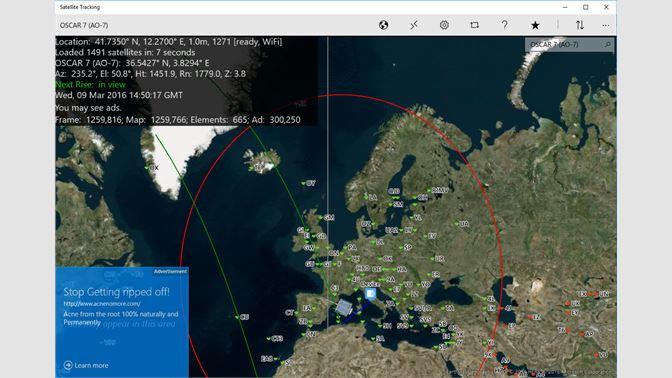 Get Satellite Tracking - Microsoft Store