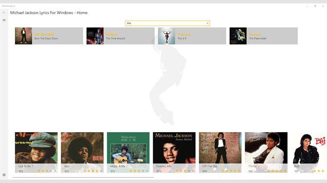Get Michael Jackson Lyrics For Windows - Microsoft Store en-GB