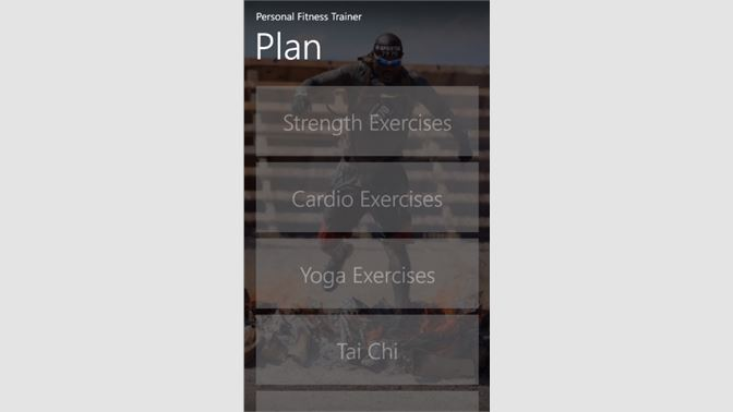 Get Personal Fitness Trainer - Microsoft Store