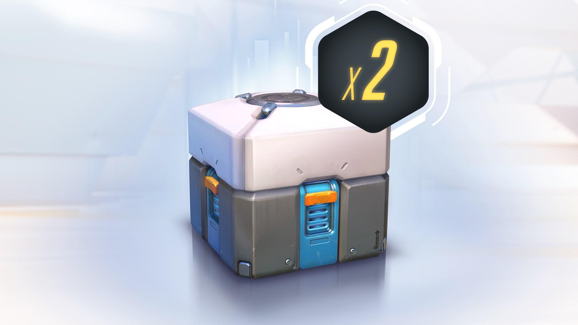 Overwatch - 2 Caixas de itens