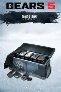 10,000 Iron + 2,500 Bonus Iron