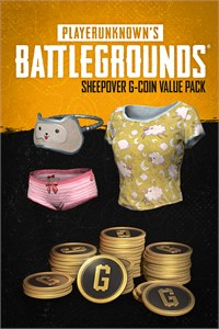 """PUBG - G-Coin Value Pack """"Sheepover"""""""