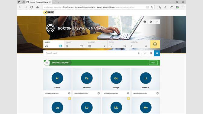 norton safe search toolbar edge