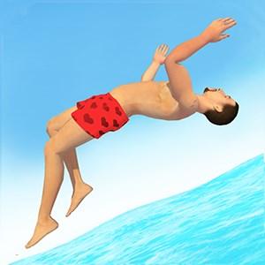 Cliff Flip Diving 3D