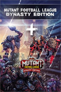 Carátula del juego Mutant Football League - Dynasty Edition