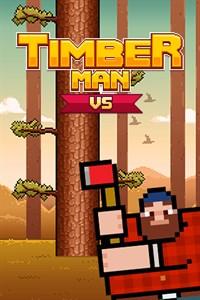 Carátula para el juego Timberman VS de Xbox 360